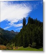 The Valley Of Healing Metal Print