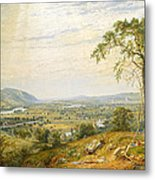 The Valley Of Wyoming Metal Print