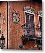 The Venetian Balcony Metal Print