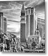 The Venetian Resort Hotel Casino Metal Print