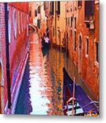 The Venetian Way Metal Print