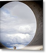The View Above Metal Print by Fran Riley