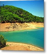 The View At Shasta Lake Metal Print