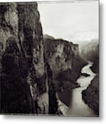 The View Downstream From The Eminence Metal Print