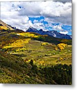 The View From Last Dollar Road Metal Print