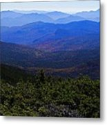 The View From Mt Washington Metal Print