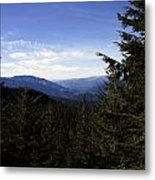 The View From Nf 7605 No 1 Metal Print