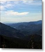 The View From Nf 7605 No 2 Metal Print