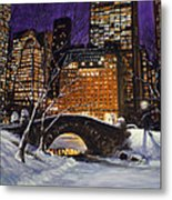 The View From The Bridge Metal Print