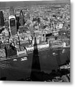 The View From The Shard II Metal Print