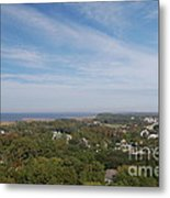 The View From The Top Of Currituck Beach Lighthouse  Metal Print