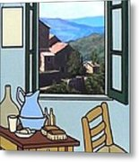 The View From Vincent's Room. Sold Metal Print by Kenneth North