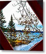 The View Metal Print
