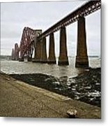 The View Of The Forth Bridge Metal Print
