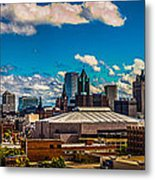 The View That Made Milwaukee Famous Metal Print