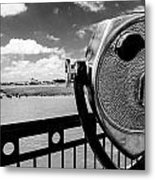The Viewer Metal Print