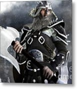 The Viking Metal Print