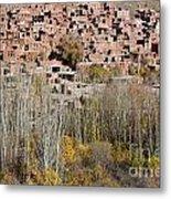 The Village Of Abyaneh In Iran Metal Print