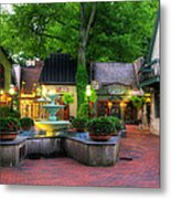 The Village Of Gatlinburg Metal Print by Greg and Chrystal Mimbs