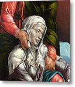 The Virgin And Saint John The Evangelist Metal Print