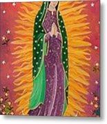 The Virgin Of Guadalupe Metal Print