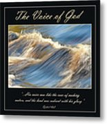 The Voice Of God Metal Print