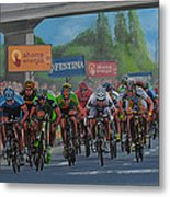 The Vuelta Metal Print