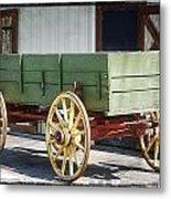 The Wagon Metal Print