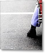 The Wait  Metal Print