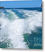 The Wake Metal Print by Kaye Menner