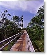 The Walk To Cape Lookout Metal Print