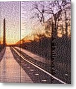 The Wall Metal Print by JC Findley