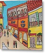 The Walled City Metal Print