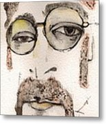 The Walrus As John Lennon Metal Print by Mark M  Mellon