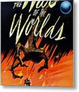 The War Of The Worlds Metal Print by Georgia Fowler