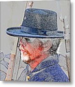 The War Vet Metal Print