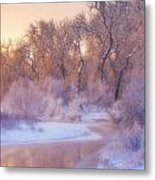 The Warmth Of Winter Metal Print