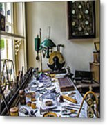 The Watch Repair Shop Metal Print