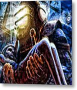 The Watchful Protector Metal Print