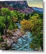 The Watchman At Sunrise Metal Print