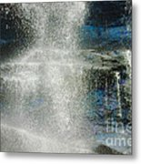 The Water Blue Metal Print