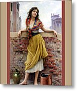 The Water Carrier Poster Metal Print