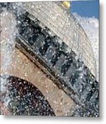 The Water Droplets From The Fountain At The Hagia Sophia Turkey Metal Print
