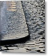 The Water Fountain Metal Print
