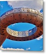 The Water-less Ring Metal Print