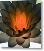 The Water Lilies Collection - Photopower 1036 Metal Print