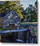 The Water Mill Metal Print