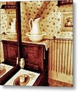 The Water Pitcher And Wash Basin Metal Print