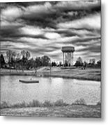 The Water Tower Metal Print