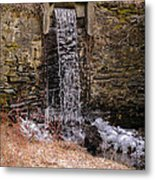 The Waterfall At Hagy's Mill Metal Print